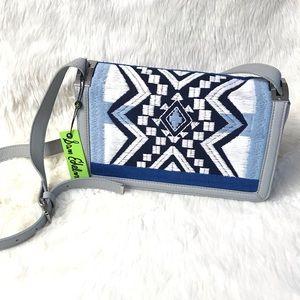 Sam Edelman Zuri Embroidered Leather Crossbody Bag